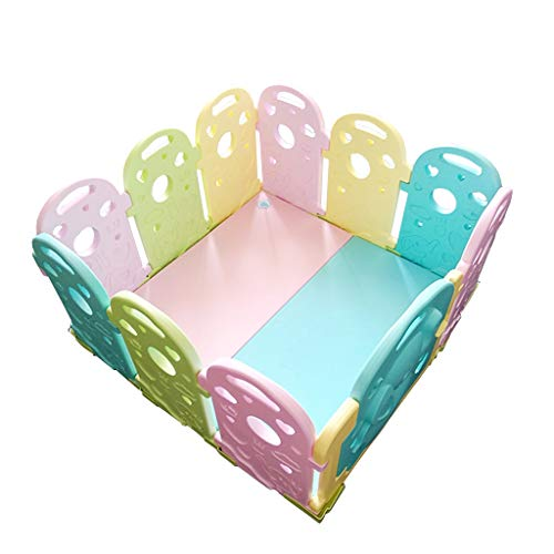 Best Buy! CHULQY Baby Safety Children's Play Fence Baby Living Room Home Toddler Shatter-Resistant P...
