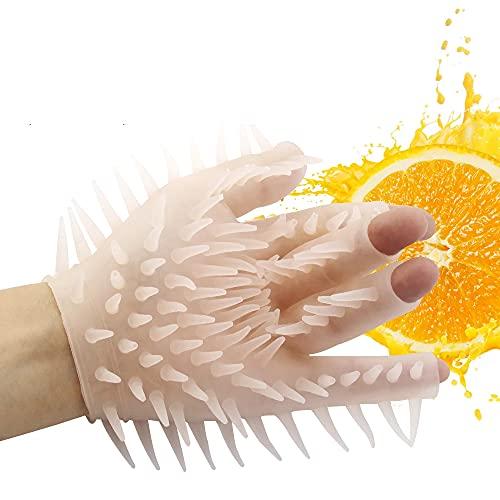 xihua Siliconen Badborstel Handschoenen Zachte Siliconen Handschoenen Vleeskleurig Feestspeelgoed 1 ST