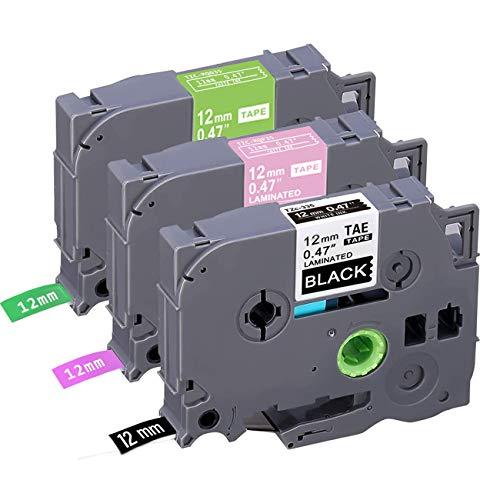 5x Schriftband für Brother P-Touch TZ 231 PT P900 E100 H105 D200 1000 1010 1090