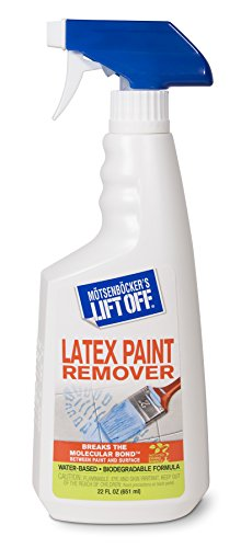 Motsenbocker's Lift Off 41301 22-Ounce Latex Paint Remover Spray is Environmentally Friendly Safely Removes Latex Paint and Enamel and Works on Multiple Surfaces Water-Based and Biodegradable