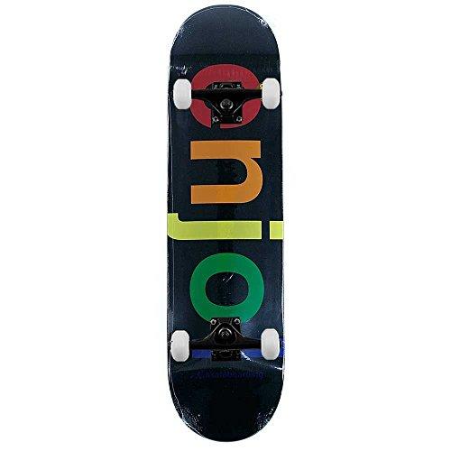 Enjoi Skateboards Spectrum schwarz komplett Skateboard 21cm