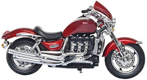 Bburago 18-51039 Triumph Rocket III 1/18 schaalmodel motorfiets rood