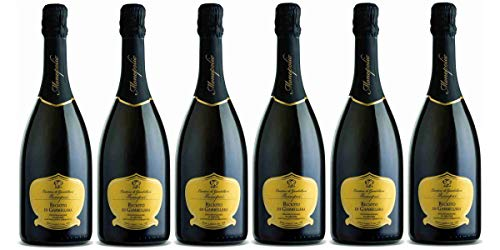Confezione 6 bottiglie RECIOTO di GAMBELLARA D.O.C.G.  Vino Spumante Dolce 100% Uve Garganega   Cantina di Gambellara