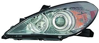 Go-Parts - OE Replacement for 2007 - 2008 Toyota Solara Headlight Headlamp Assembly Replacement Front - Left (Driver) 81150-06422 TO2502186 Replacement For Toyota Solara