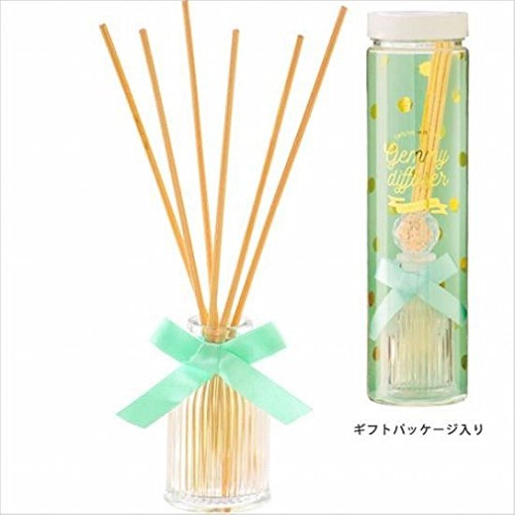 ファブリック囲まれたムスタチオカメヤマキャンドル(kameyama candle) GEMMY (ジェミー) ディフューザー 「 タイム 」6個セット