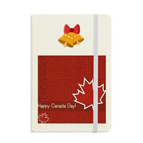 Kanada Flavor Happy Canada Day Notizbuch Tagebuch mas Jingling Bell