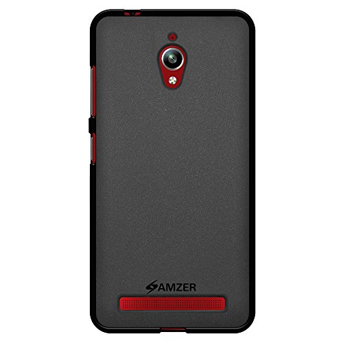 Amzer Pudding-Cover in TPU per ASUS Zenfone ZC500TG Go, Colore: Nero