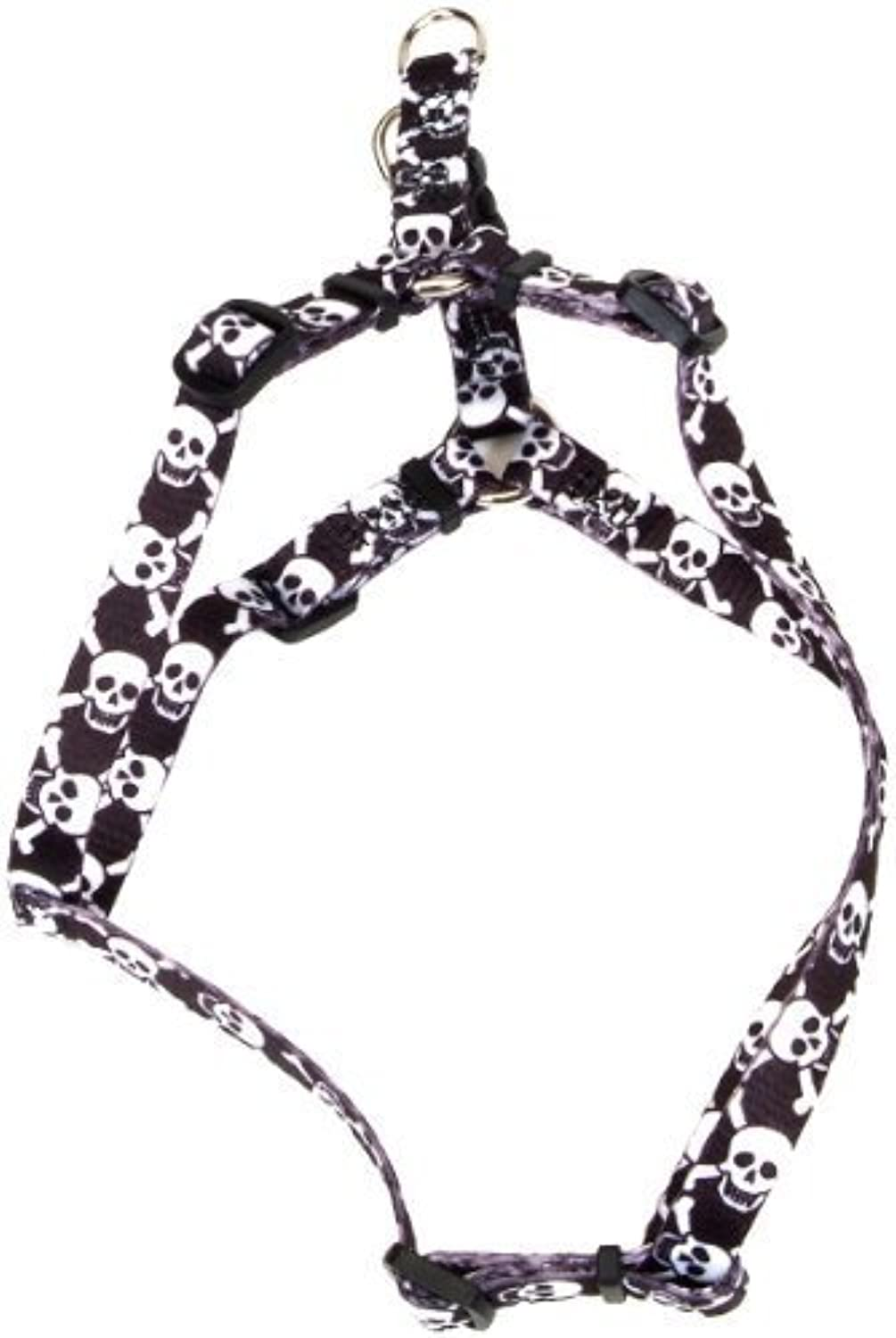 Pet Attire Styles StepIn Harness, 1624Inches, Skulls with Bones by Coastal Pet Products