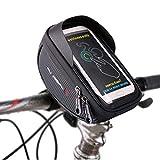 Selighting Bolsa Bicicleta Manillar Impermeable Bolsa Móvil de Bici Montaña BTR Carretera Bolso Delantero de Bicicleta para Teléfono Movil dentro de 6,0 pulgadas