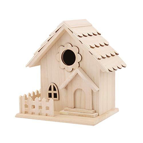 Hukezhu Nest DOX, casa de Nido, casa de Aves, Caja de Madera