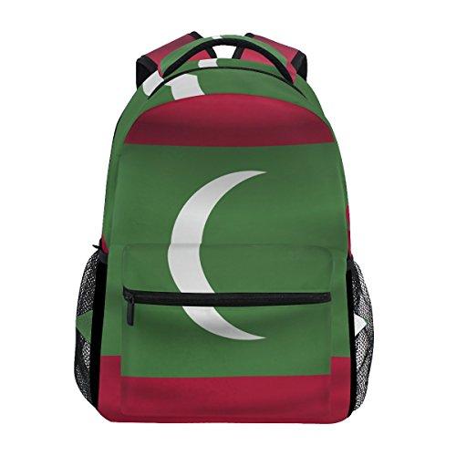 Mochila Unisex con la Bandera de Maldivas