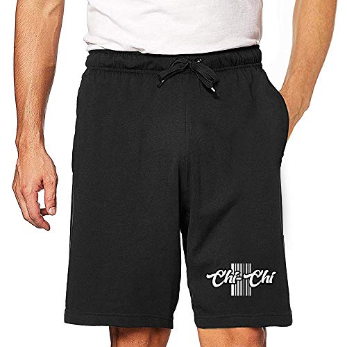Eddany Chi Chi Barcode Embroidered Short S Black