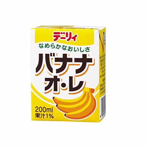 .南日本酪農協同 デーリィ バナナ・オ・レ 200ml×24本入【×2ケース:合計48本】