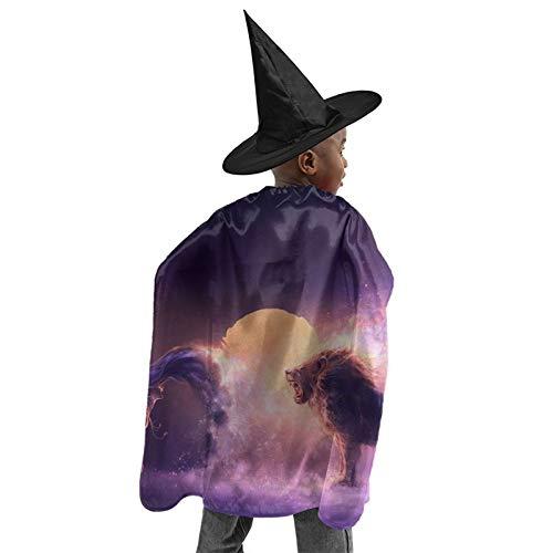 TYHG - Disfraz de bruja para nios (3  12 aos)