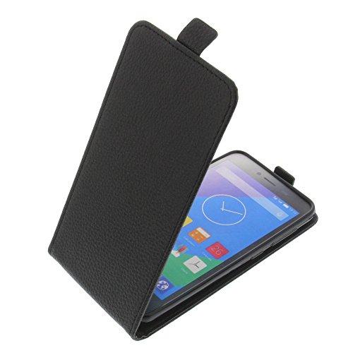 foto-kontor Tasche für Phicomm Energy L Smartphone Flipstyle Schutz Hülle schwarz
