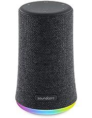 Soundcore Flare Mini Bluetooth luidspreker, voor buiten, IPX7 waterbeschermingsklasse, LED-lichteffecten, 360° rondom geluid, BassUpTM-technologie, ideaal voor feesten, tuin, vakantie