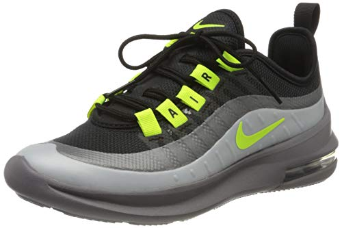 Nike Air MAX Axis (GS), Running Shoe Unisex-Child, Black/Volt/Gunsmoke/Volt, 38.5 EU