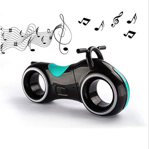 GJ688 Kinderscooter Zweirädriger Space Wheel Scooter Kinder-Walker Fühlen Sie Sich frei, Musik zu Spielen, die für 1-5 Jahre geeignet ist,Green