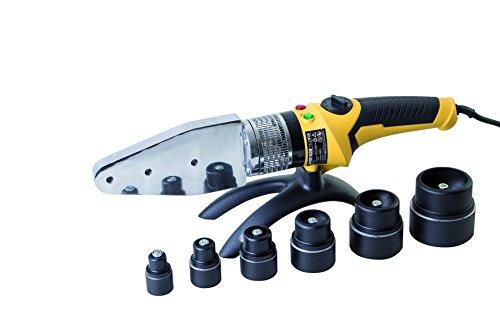 Proteco-Werkzeug® Muffenschweißgerät 2000 Watt Stumpfschweißgerät PE PP PPN Rohre schweißen Muffenschweissgerät