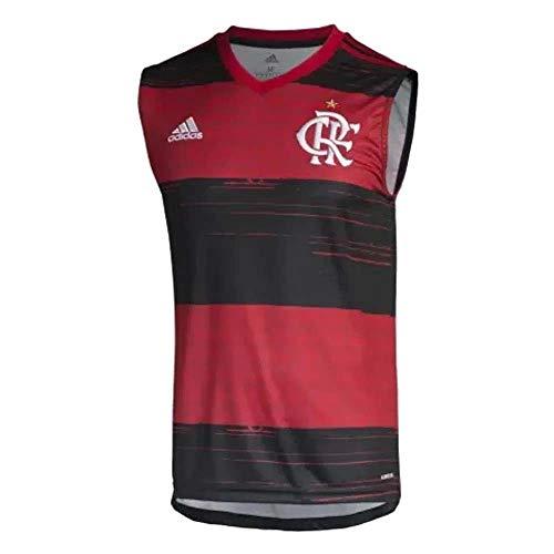 Camiseta Regata Flamengo Adidas I 2020 2021 FH7588 (G)