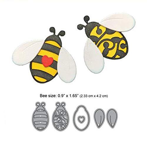 Bijen en Bijenkorf Metaal Snijden Dies Nieuwe 2019 voor Scrapbooking Kaart maken Decoratieve Album Embossing Ambachten Stencil, Bijen Snijden Dies,China