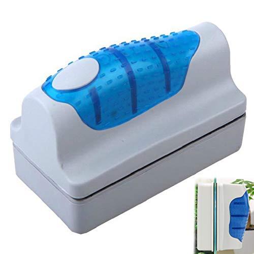 Elehui Magnetico Spazzola Acquario Detergente per Vetri per Acquario Spazzola Pulita e Galleggiante con Design della Maniglia per Pulizia Acquario (S)