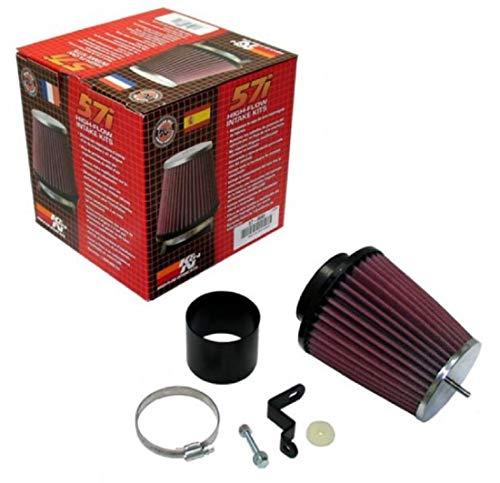 K&N 57-0683 Waschbarer und wiederverwendbarer KFZ Hochleistungsluftfiltersystem