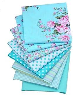 8 Telas florales vintage para cojines, vestidos, costura, colchas, toallas, banderines, caravanas, guirnaldas, manualidades, patchwork, costura 40 x 50 cm de CHIPYHOME