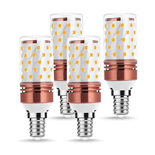 zhppac GlüHbirne Backofen GlüHbirne Dunstabzugshaube E27 Led Glühbirnen LED-Schraube Glühbirne E27 LED-Glühbirne Badezimmer Glühbirnen Nachtglühbirnen warm White,e14-12w
