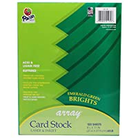 Array Card Stock Brights Emerald