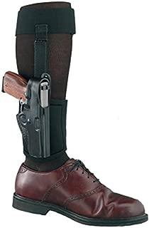 Gould & Goodrich B816-G42 Ankle Holster Plus Garter for Glock 42, Black