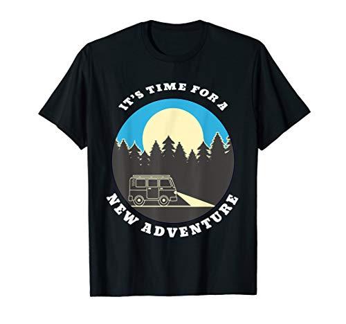 Campern | Van | Camberbus | Bulli | Auto | by Night T-Shirt