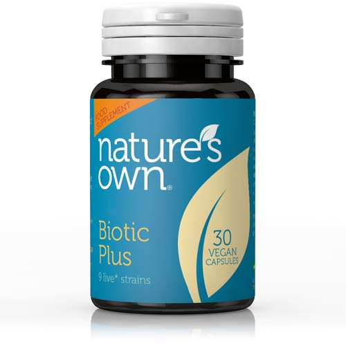 Natures Own Probiotic Plus, 30 vegan Kappenules