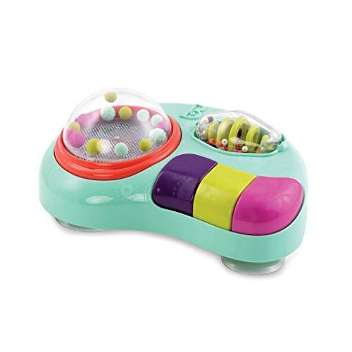 B. toys Baby Spielzeug für Hochstuhl mit Lichtern, Musik, Geräusche Lernspielzeug – Motorikspielzeug Activity Babyspielzeug ab 6 Monaten