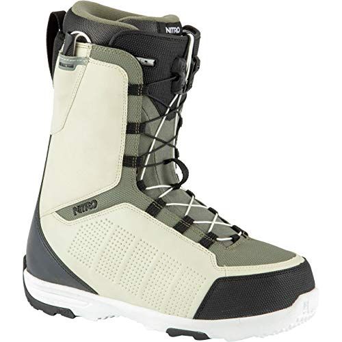 Nitro Męskie buty snowboardowe Thunder TLS BOOT´21, Sand-Black-Army, 285