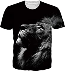 Unisex 3D Patrón Impreso Camisetas Verano Casual Manga Corta T-Shirt