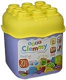 Clementoni- Soft Clemmy-Secchiello 20 Pezzi-Colori Assortiti,...