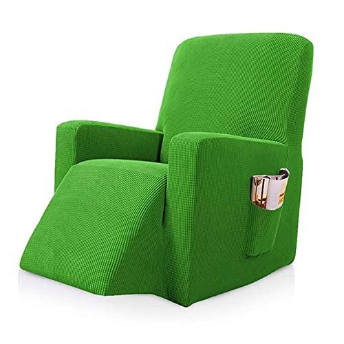 Mimosapud Cubierta de sofá Sofá reclinable, para la Silla de Silla reclinable de Sala de Estar Masaje Todo Incluido sillones (Color : Lime Green)