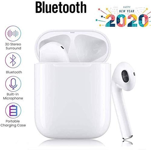 Bluetooth-Kopfhörer,kabellose Touch-Kopfhörer HiFi-Kopfhörer In-Ear-Kopfhörer Rauschunterdrückungskopfhörer,Tragbare Sport-Bluetooth-Funkkopfhörer,Für Android/iPhone/Samsung/A-irPods Pro