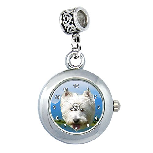 West Highland Terrier Reloj para el Collar o Pulsera
