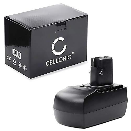 CELLONIC® Batterie 14.4V, 3Ah, NiMH Compatible avec Metabo BSZ 14.4, BSZ 14.4 Impuls, BSZ 14.4 Impuls Accu de Rechange 6.25475, 6.25476,625476000, ME-1474 Outil portatif