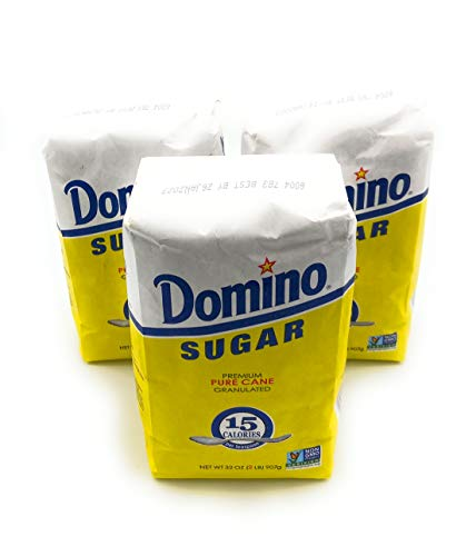 Domino: Pure Cane Granulated Sugar, 2 Lb (3 pack)