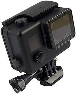 حافظة مقاومة للماء 45 ملم للغوص لجوبرو هيرو 4/3 + حافظة للكاميرا لون اسود