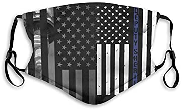 Deputy Sheriff US Flag Dustproof Respirator Outdoors With filters For Boys and Girls