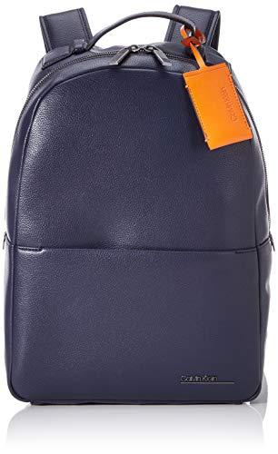 Calvin Klein Ck Bombe' Backpack - Zaini Uomo, Blu (Blackwhite Navy), 1x1x1 cm (W x H L)