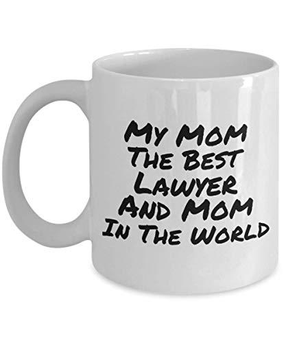 N\A Abogado Abogado Mi mamá Lo Mejor del Mundo Tazas y Tazas de café Divertidas
