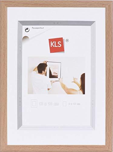 KLS Kunststof fotolijst 70x100 cm beuken serie 42