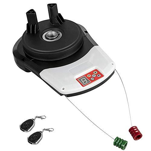 Garage Roller Door Opener Motor Rolling Gate Automatic Remote Control, Quiet Rolling Door Opener with 1/3HP and DC Power