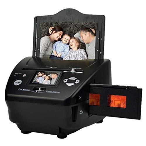 Scanner di diapositive, 16 milioni di pixel 35mm Scanner for film negativo Photo Business Biglietto da visita 135 Scanner film Positive e Negat JIAJIA