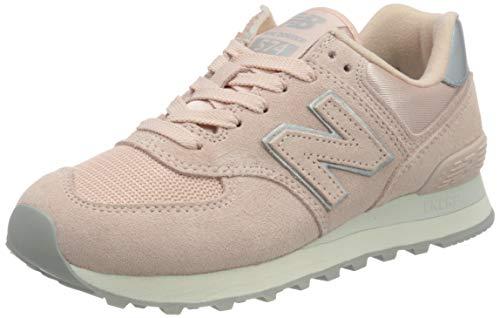 New Balance Damen WL574 B Sneaker, Pink Pink Ps, 40 EU